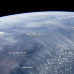 Southern African smoke plumes from space