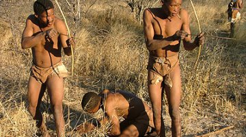 """Ironically, Botswana had a """"green"""" economy already in place with the San People"""