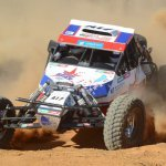 Herman and Wichard Süllwald won a race of attrition in the Special Vehicle class to take honours on the Toyota Kalahari Botswana 1000 Desert Race