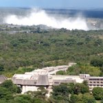 Elephant Hills Resort where the conference centre is being built is located close to the  Victoria Falls.