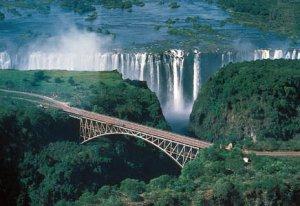 Victoria Falls and Bridge