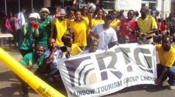 Victoria Falls Cleanup Celebration