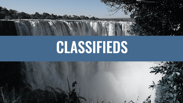Latest Victoria Falls Classifieds