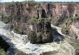 Batoka Gorge - just below the Victoria Falls