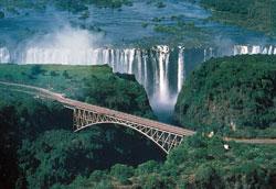 Main attraction ... The Victoria Falls