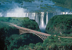 Main attraction ... The Victoria Falls