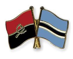 angola botswana flag