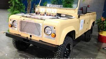 elandy, electric land rover