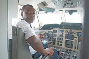 Former Presidential jet pilot takes top job at Proflight. Chief pilot Captain Gerald Tembo.