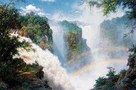 Victoria Falls Art