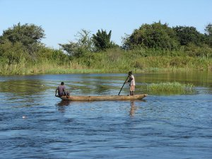 Zimbabwean villagers living along the border with Zambia are reportedly risking life and limb crossing the crocodile-infested Zambezi River to collect life-prolonging anti-retroviral drugs