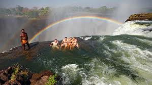Devil's Pool which is located on the edge of the almighty Victoria Falls
