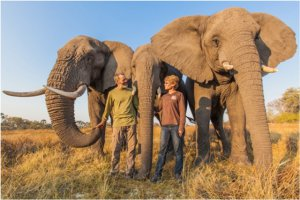 Doug and Sandi have made a life-long commitment as caregivers to the elephant trio
