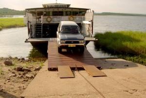 Offloading vehicles at Mlibizi
