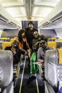 Proflight Fly-5 from left Pompi, Petita Mwanza, Cactus-Agony JK,Slap-Dee