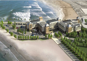 Strand Hotel Swakopmund: computer generation of what it will look like