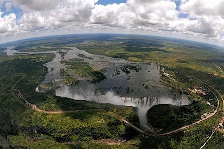 Victoria Falls Panoramic View