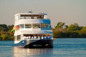 Zambezi Explorer on its maiden voyage