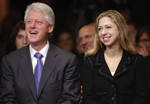 Bill Clinton and daughter Chelsea