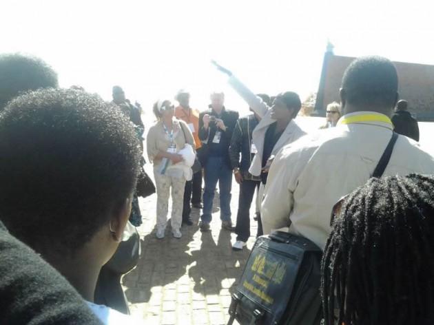 Delegates briefing