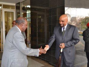 Finance Minister Alexander Chikwanda with Senior Chief Inyambo Yeta