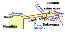 Masikili on a map