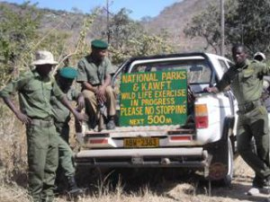 Parks & Wild Life, Kariba Animal Welfare Fund Trust and Helpers