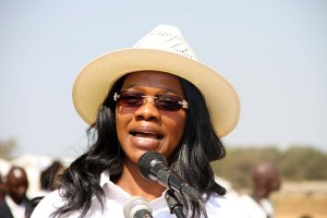 Zambian Minister of Tourism and Arts Mrs Sylvia Masebo