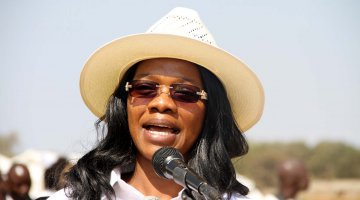 Zambian Minister of Tourism and Arts Mrs Sylvia Masebo
