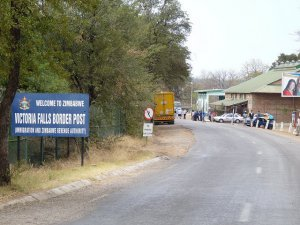 Victoria Falls Border Post