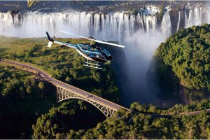 Victoria Falls helicopter flights