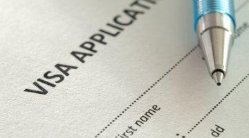 Application for visa