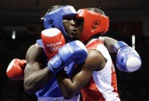 Ben Muziyo in Beijing 2008 Olympics