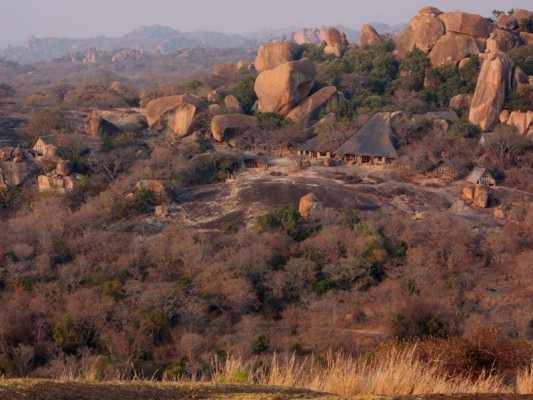 Big Cave in Matobos Hills, Zimbabwe