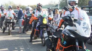 Bikers raising awareness of deformation
