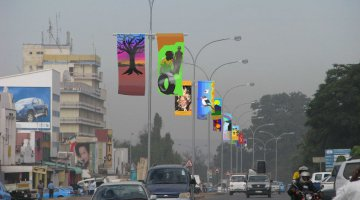 Downtown Livingstone Zambia