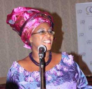 Zambia's First Lady Christine Kaseba