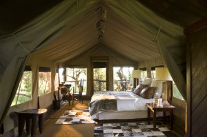 Botswana's Nxabega luxury tented camp