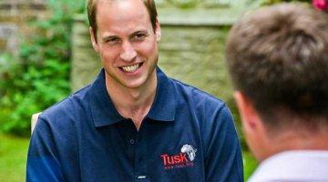 Prince William talks Tusk Trust