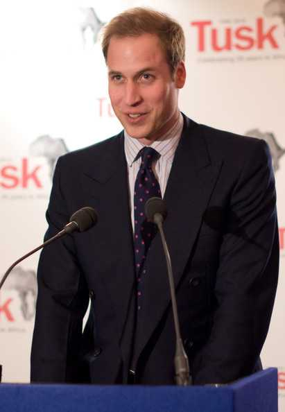 8f36c88b9be Prince William at the Tusk Trust Conservation Awards