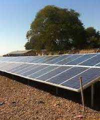 Solar powered school in Zambia