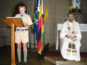 St George's Day Service at St Mary's Cathedral