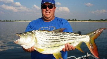Tigerfishing on Lake Kariba