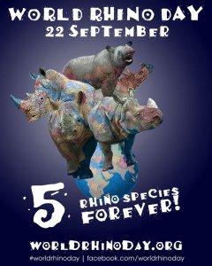 Wrold Rhino Day