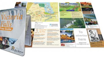 Z-Card pocket guide to Victoria Falls