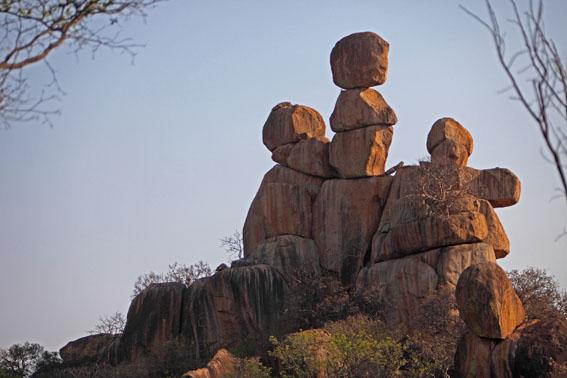 'The Three Sisters' Matopos Hills