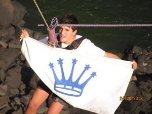 Flying Petehouse flag