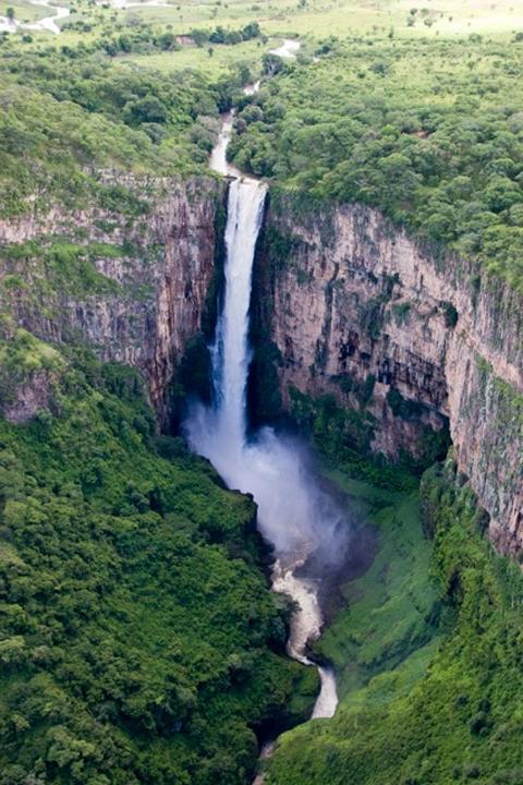 Kalombo Falls, Zambia