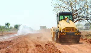 Mfuwe-Chipata Road Works