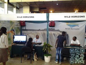 Wild Horizons stand was extremely busy throughout the fair